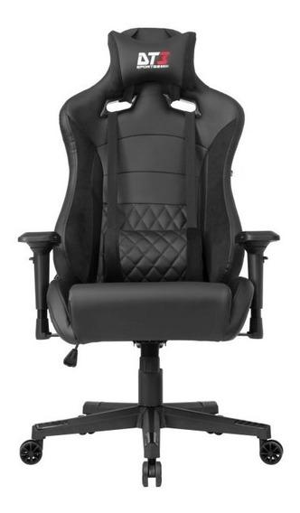 Cadeira Gamer Dt3 Sports Ravena Black Suede 11586-1