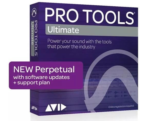 Pro Tools 2019 Ultimate (hd) Vitalício Ilok Cloud!