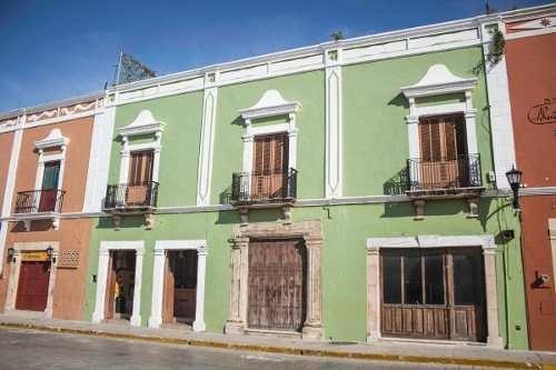 Hermosa Casona En Venta En El Centro Histórico De Campeche