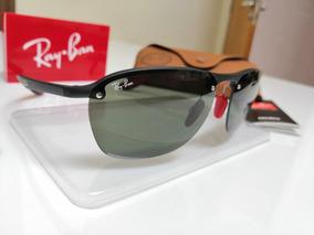 Óculos Sol Ray Ban Scuderia Ferrari Rb4302 Verde F601s/71