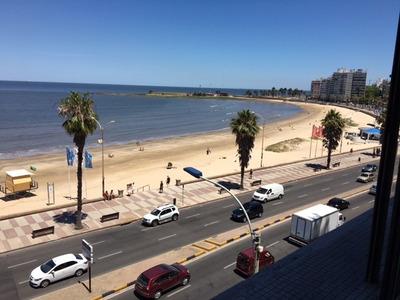 Vista Al Mar!! 2 Dorm Escrit Gge Rambla Y Martí - Opc. Mueb