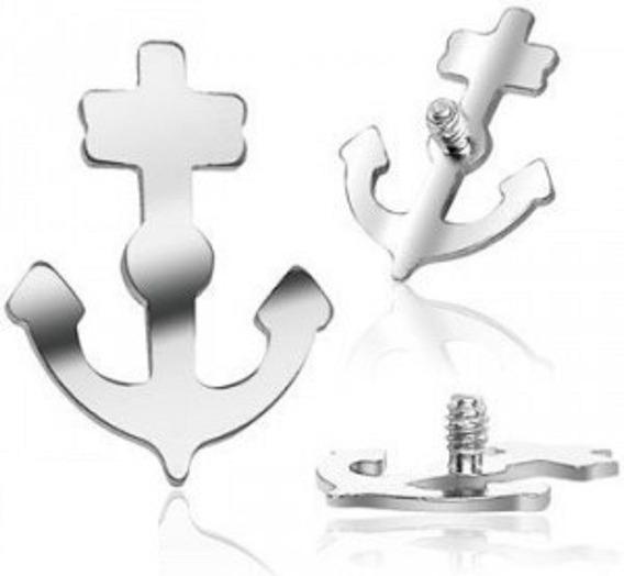 1 Peça Topo Piercing Microdermal Surface Titânio Ancora