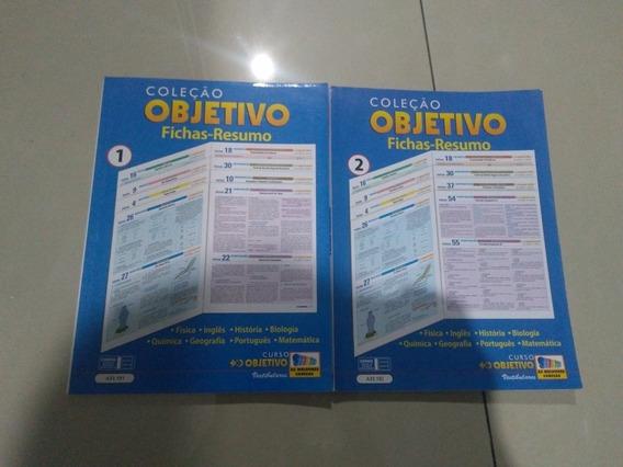 Colecão Objetivo Fichas-resumo Objetivo 1 E 2