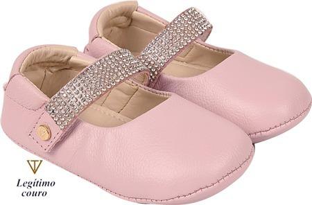 Sapato Feminino Infantil Boneca Fashion Couro