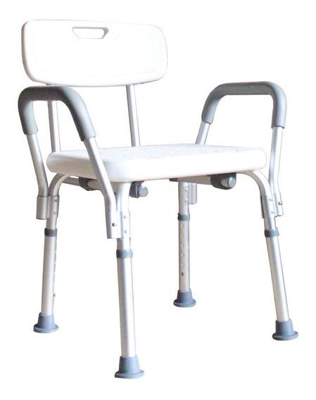 Silla Para Baño Discapacitados Con Respaldo Y Descansabrazo