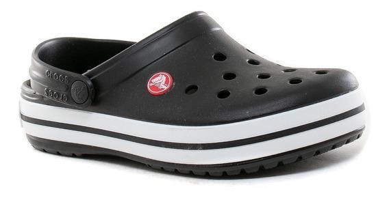 Zuecos Sandalias Crocband Black Crocs Sport 78