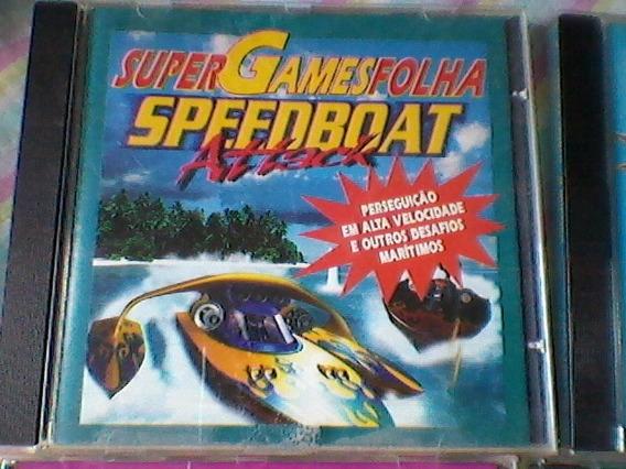 Kit-4,cd´s Super Games Folha - Criatura Crunch,