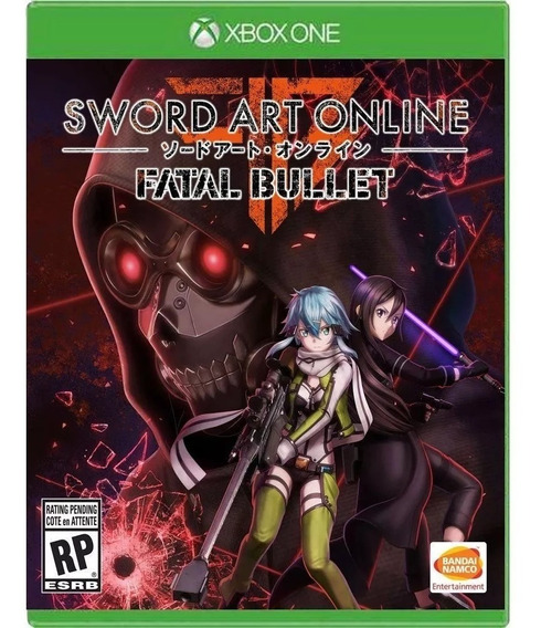 Jogo Sword Art Online Fatal Bullet - Xbox One Fisica Lacrado