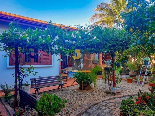 Imagem 1 de 30 de Chácara Com 6 Quartos À Venda, 1200 M² Por R$ 1.850.000 - Guara - Campinas/sp - Ch0761