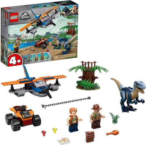 Lego Jurassic World 75942 Velociraptor Rescate 101 Pzs Dino