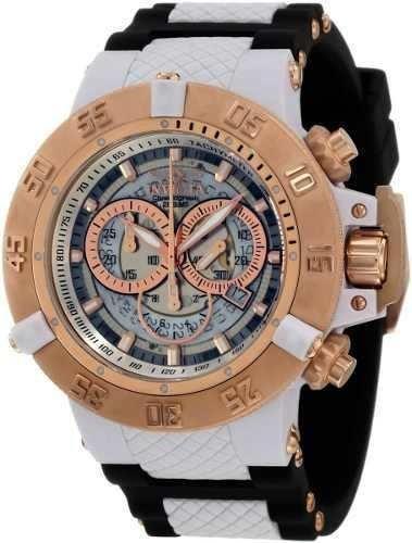 Relógio Invicta 0931 Subaqua Noma Iii 3 Rose Original Gold