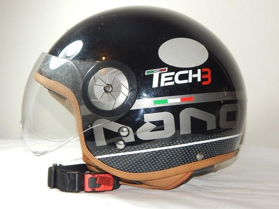 Capacete Tech3 Nano Fashion Preto