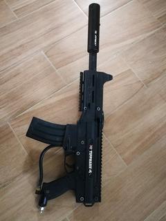Pistola De Gotcha Con Equipo