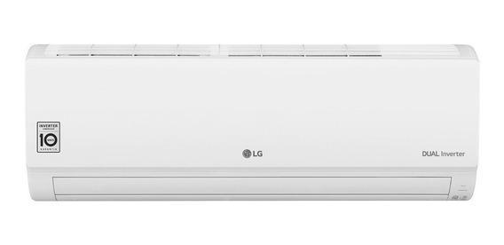 Ar condicionado LG Dual Inverter Voice split quente/frio 9000BTU/h branco 220V S4-W09WA51A