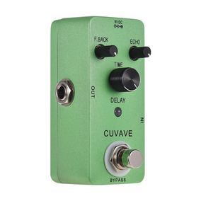 Pedal Guitarra Delay Classic Cuvave - Mini Echo - Amoon Nux