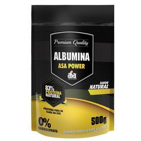 Albumina 500g Natural (83) - Asa Power