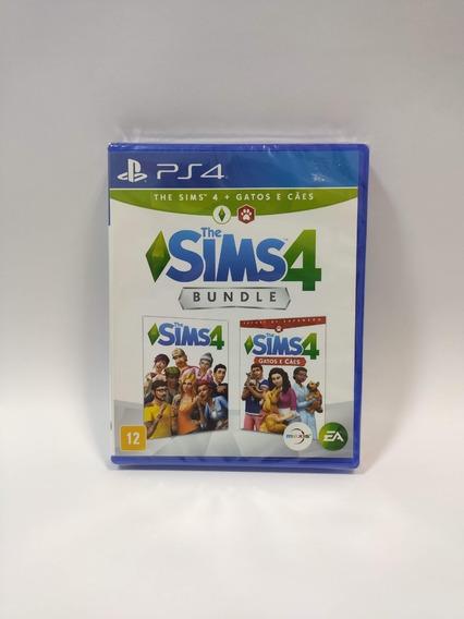 The Sims 4 Jogo+expansão Gatos E Cães Ps4 Novo Midia Fisica