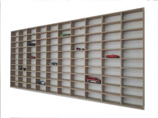 Exhibidor Coleccionador Hot Wheels 100 Autos Mdf