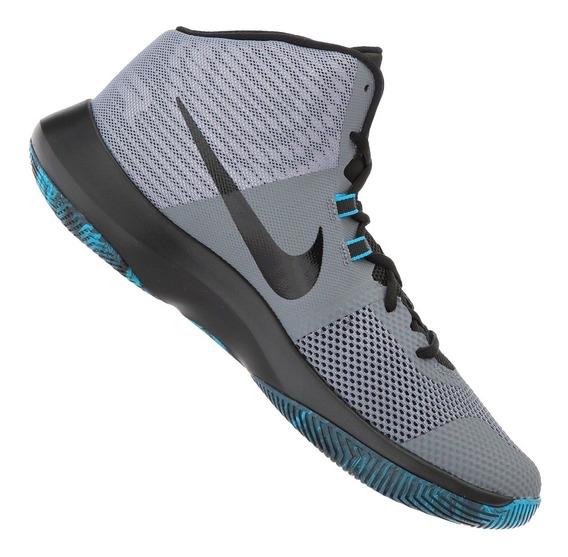 Tênis Nike Air Precision Cinza Basketball Original