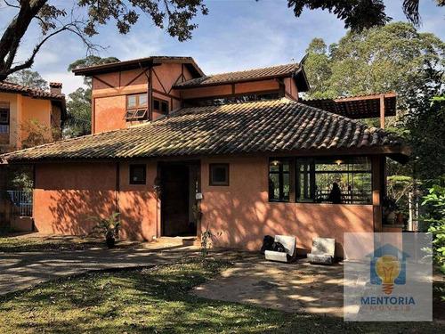 Casa Com 3 Dorms Para Alugar - R$ 6.590 - Chácara Dos Lagos - Carapicuíba/sp - Ca0302