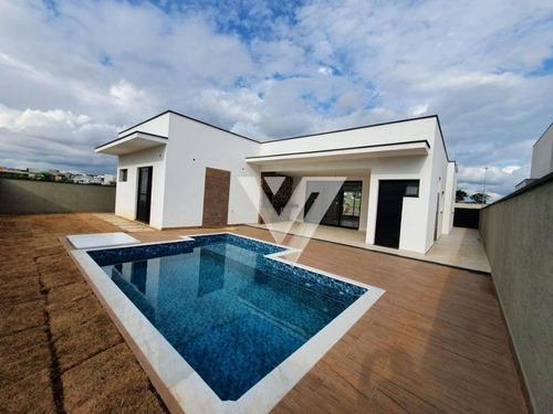 Casa Com 3 Dormitórios À Venda - Alphaville Nova Esplanada Iii - Votorantim/sp - Ca1623