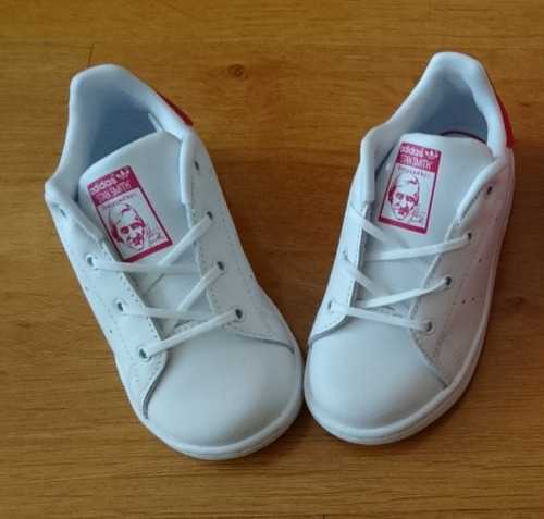 zapatillas adidas sthan smith niña