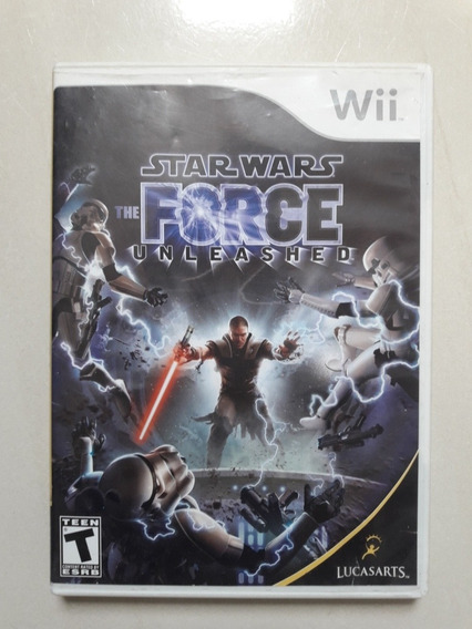 Star Ward The Force Unleashed Wii