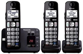 3 Telefonos Inalambricos Panasonic Kx-tge233b