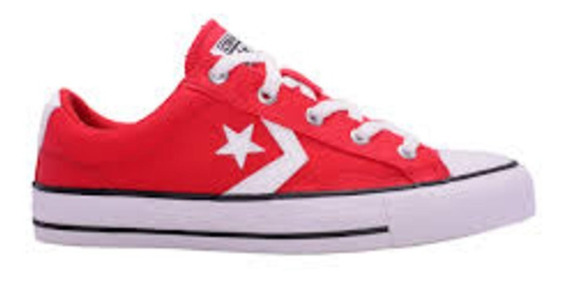 Zapatilla Converse Star Player Ox Rojo 157009c