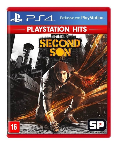 Infamous Second Son Ps4 Mídia Física Novo Lacrado