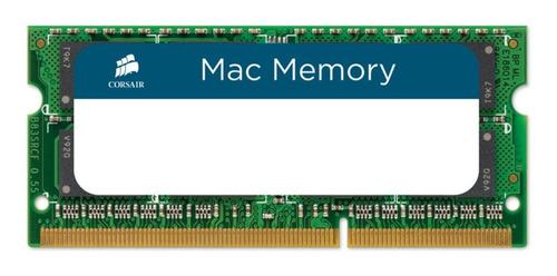 Imagen 1 de 2 de Memoria RAM Apple SODIMM color Verde  8GB 1 Corsair CMSA8GX3M1A1600C11