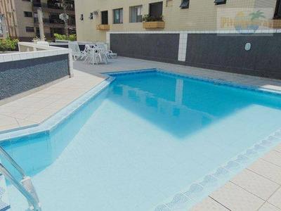Praia Do Tombo,excelente Apartamento ***venda Ou Locação Anual***,varanda Com Espaço Gourmet,vista Ao Mar,lazer Total,garagem! - Ap1254