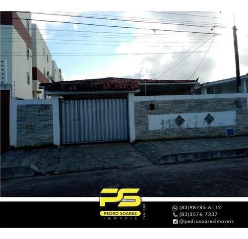 Casa Com 4 Dormitórios À Venda, 300 M² Por R$ 380.000,00 - Cristo Redentor - João Pessoa/pb - Ca0918