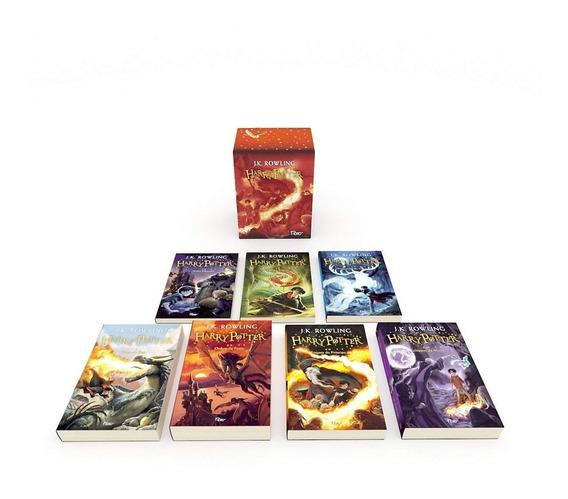 Box De Livros De Harry Potter- Premium- J.k. Rowling-