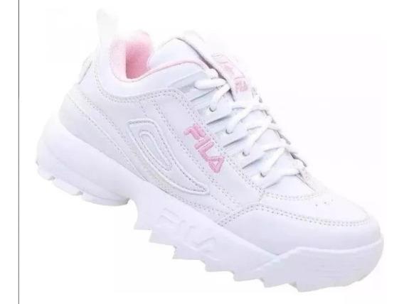 Tenis Sapatos Mulheres Homens Fila Disruptor Promoção