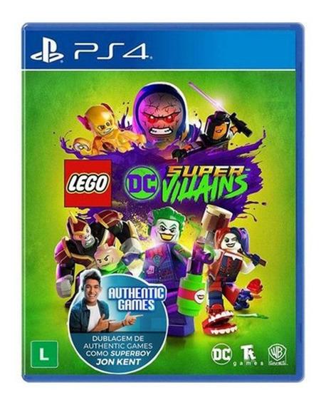 Jogo Lego Dc Super Villains - Ps4 - Novo - Física