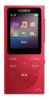 Reproductor Mp3 Sony Walkman Nw E393 4gb Mp3 50 Hrs