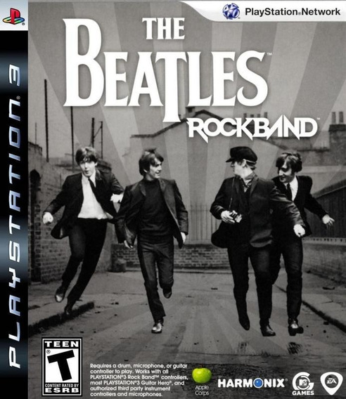 Jogo The Beatles Rock Band Playstation 3 Ps3 Frete Grátis