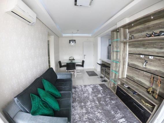 Apartamento Mobiliado Com 2 Dormitórios À Venda, 108 M² Por R$ 560.000,00 - Kobrasol - São José/sc - Ap6534