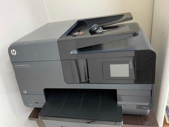 Impressora Hp 8610 (semi Nova) Sem Cabeça E Sem Cartucho