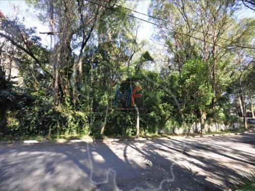 Imagem 1 de 3 de Excelente Terreno De Esquina Com 1.640 M2 Em  Otima Localização No Morumbi - 4222