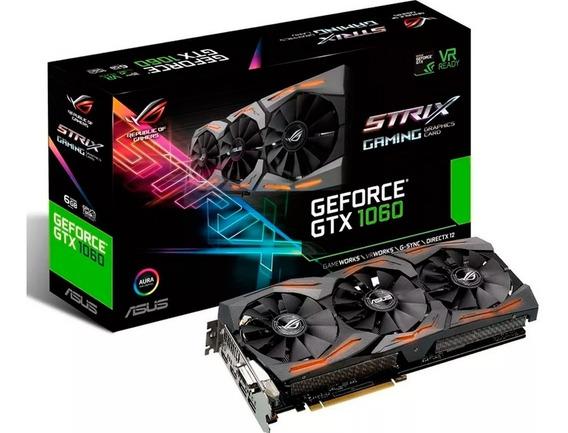 Placa Video Nvidia Rog Asus Strix Gtx 1060 6g Oc Gaming