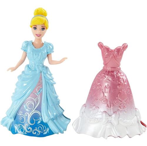 Imagen 1 de 5 de Disney Princess Magiclip Muñeca De Cenicienta Y De La Moda