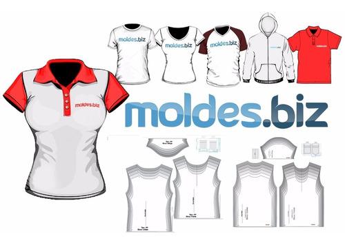 Kit Moldes - (20 Modelagens) Moldes Digitais