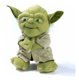 Mestre Yoda Star Wars Pelúcia 22cm - Pronta Entrega