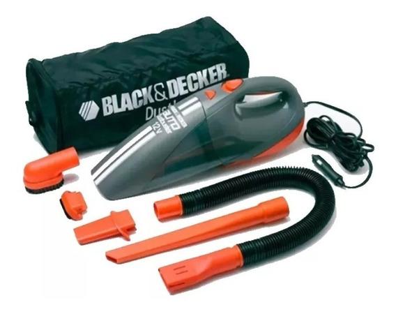 Aspiradora Auto Black Decker 12v Av1500 Portatil+5accesorios