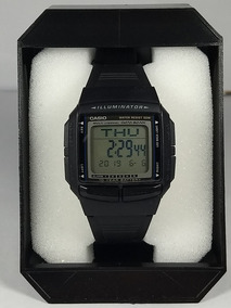 Relógio Casio Data Bank Db-36-1av Borracha 30 Memória