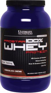 100% Whey Prostar Ultimate Nutrition (900g) Importado Usa