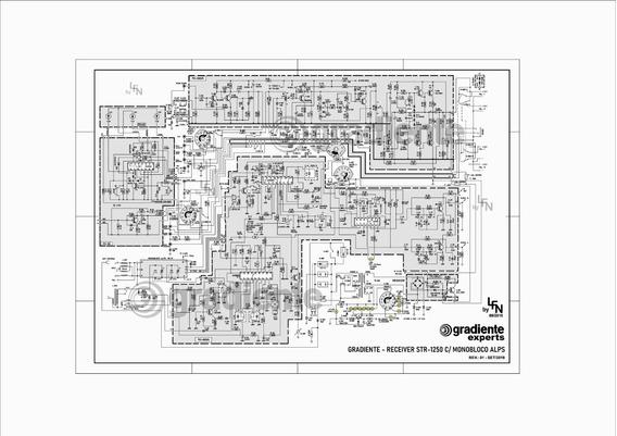 Esquema Elétrico Receiver Gradiente Str-1250 Alta Resolução