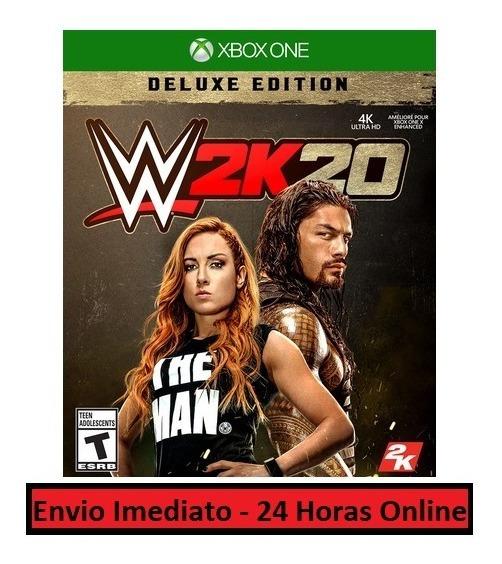 Wwe W2k20 Jogo + Todas Dlcs - Xbox One Midia Digital